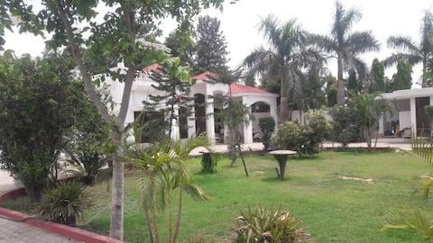 Serene 6-BHK Farmhouse with Pool