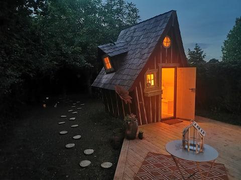 Maison de fée insolite magique Rennes/St Malo
