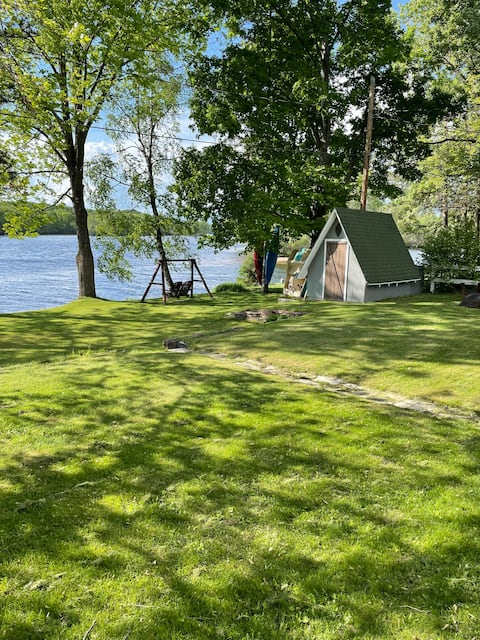 Cottage on the Wisconsin River