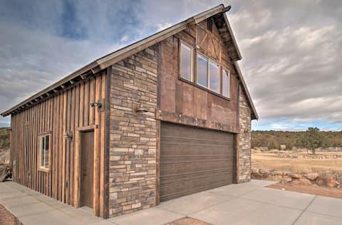 Custom Studio Apartment with Garage and Views!
