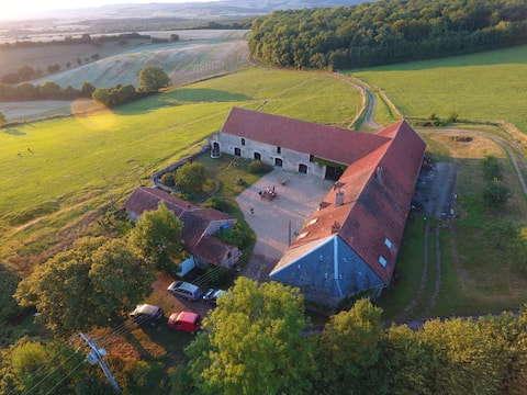 Maison indépendante, dans une ancienne ferme