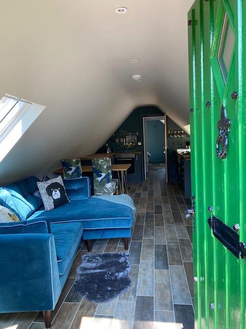 Woodland View-Luxury ozolkoka rāmja klēts ar savu burbuļvannu x