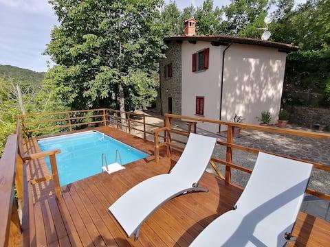Il Poggetto Villa nel verde con piscina panoramica