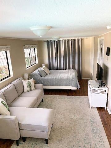 Living/Sleeping Area