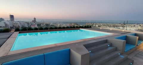 *NEW* Exclusive 3 Bed Apt. With Pool St Julians
