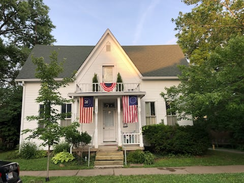 Welcome to the historic  Doc Tilton House