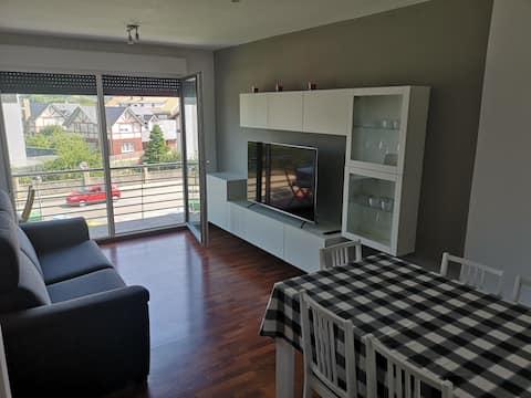 Apartamento acogedor y práctico cerca de la playa