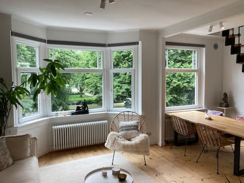 Bright, green paradise in Amsterdam