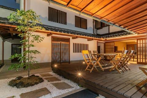 8 mins to Tondabayashi/Heritage Osaka