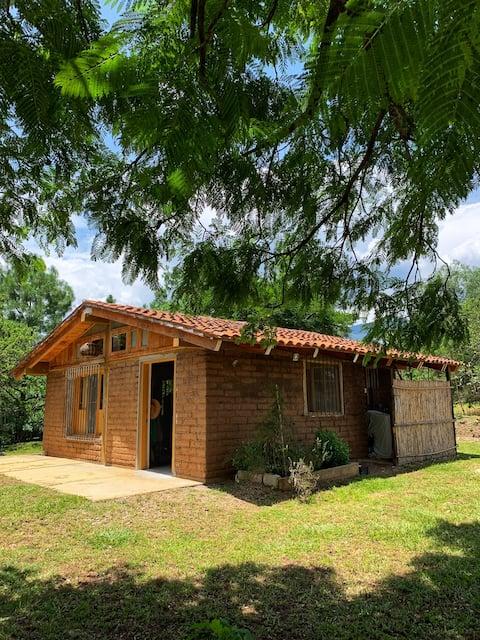 Cabaña acogedora  para pasar unos días en el campo