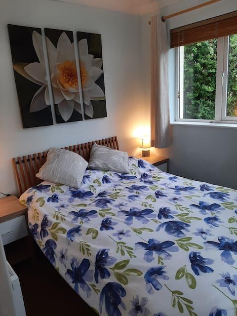 Incantevole appartamento con un letto in una tenuta tranquilla
