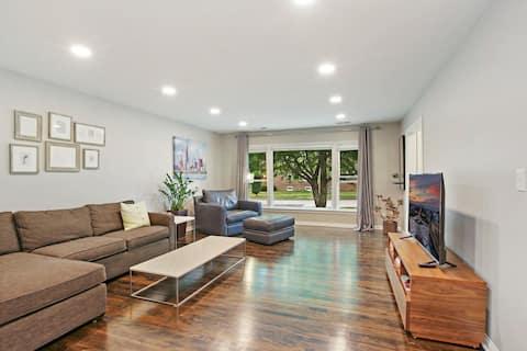 Spacious & Renovated Home in Quiet Neighborhood!