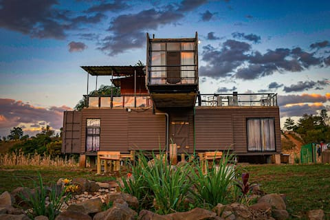 SPECTACULAR CONTAINER HOUSE @ SAGANA RIVER VALLEY.