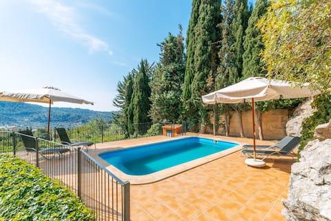 Wunderschöne ruhige Finca mit Pool in Galilea