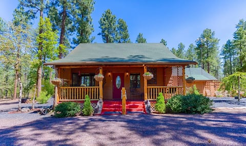 NEW LISTING! Beautiful quiet cabin on 2 acres