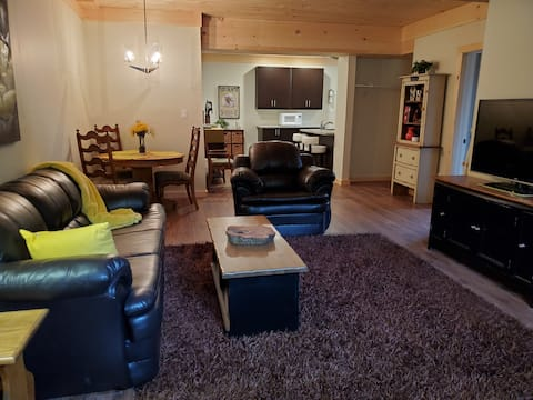 Lovely 1 bedroom, 1100 sq. ft.  lower apartment