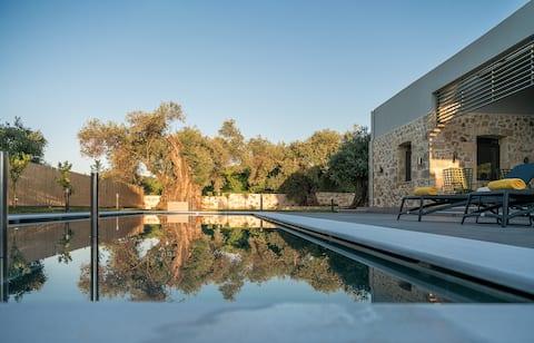 Athena Elea: Egen villa i naturen nära Chania