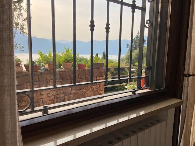 You'll wake up to this seductive view of Lake Garda.