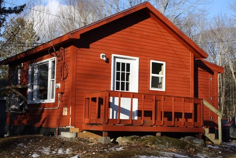 great small open concept cabin