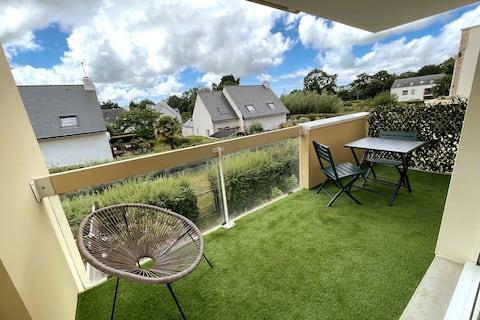Superbe appartement plein sud avec terrasse