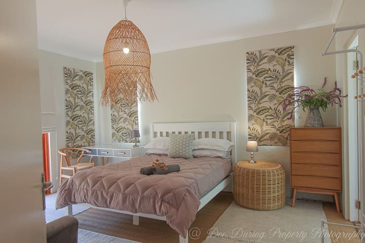 Luxury and style in the main bedroom