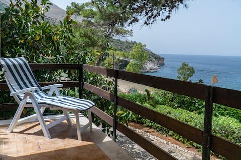 Villa Baia di Scopello ιδιωτική πρόσβαση στη θάλασσα