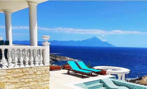 Villa Ulyana Sithonia Athos seaview
