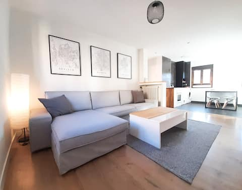 Modern apartment in city center