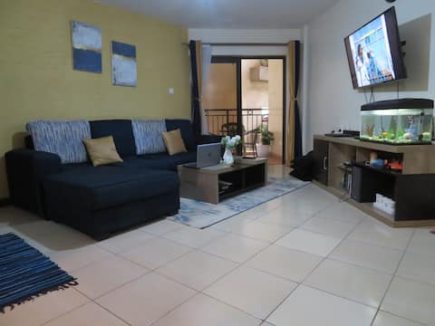 Beautiful One Bedroom with roof top swimming pool