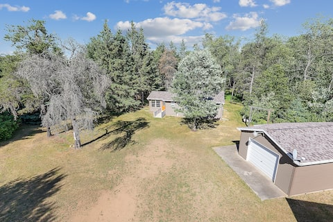 Newly renovated, 2-bedroom cabin on 13 acres
