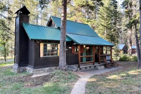 Cabaña Kingvale acogedora - Construida en 1939