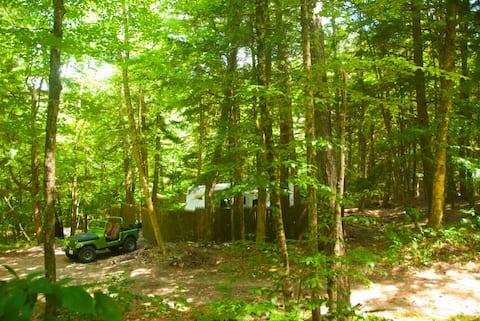 Spacious Creekside Catkill MT. Wilderness RV