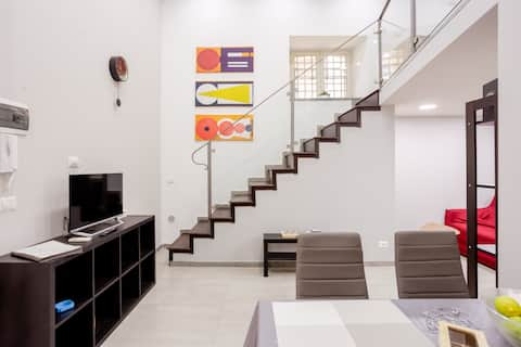 in the heart of the city center - Loft Eleven