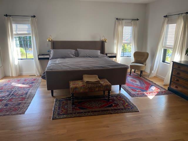 Master Bedroom, King Size bed