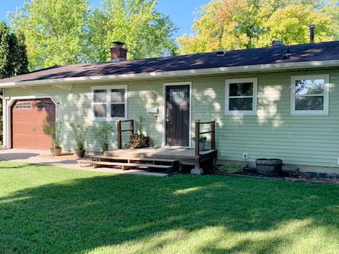 Updated Farmhouse style home in quiet north Fargo.
