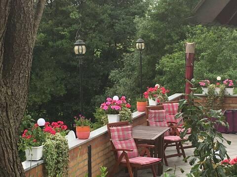 Ferienhaus Becker Einzellage auf 1000qm Gartenland
