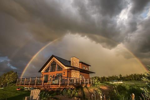 Cozy Lakefront Cabin on Delaronde Lake - Sleeps 7