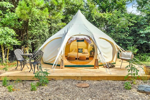 ★Escape & Relax★ | Farm Stay Yurt Glamping Getaway