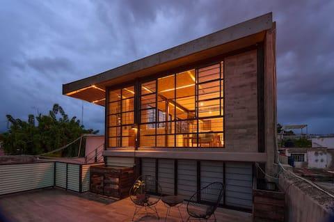 """""""Oasis"""" Loft urbano/terraza/ubicación & diseño!"""
