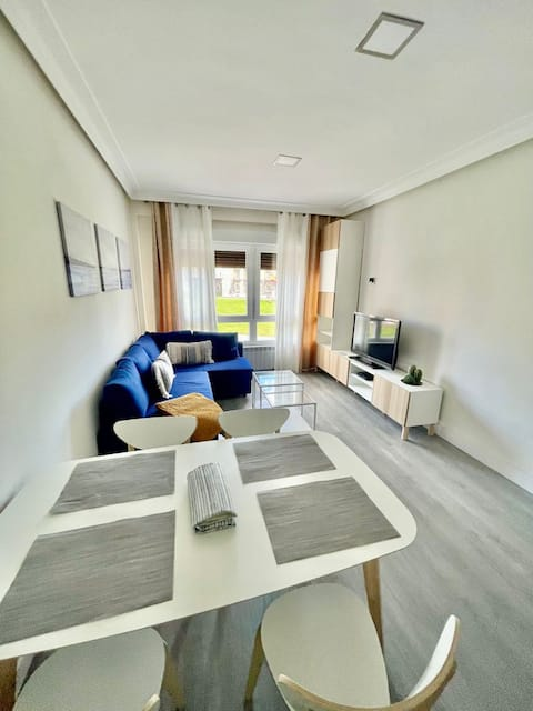 Newly renovated, modern and bright apartment