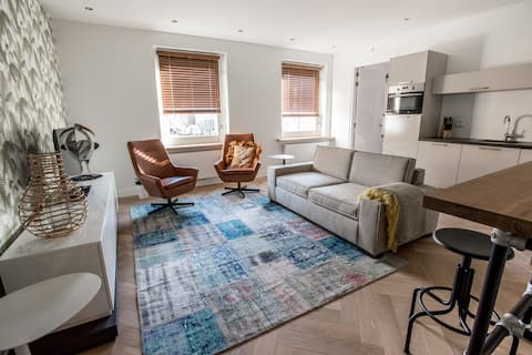 Luxe appartement in bruisend Schagen