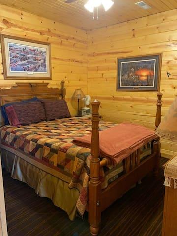 Queen bed master bedroom
