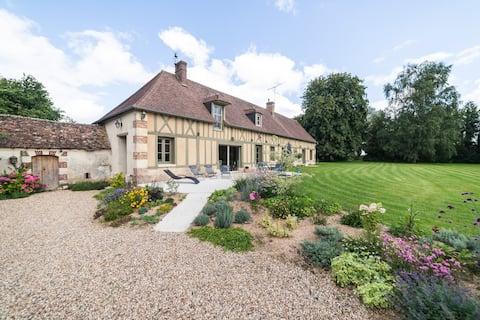 Maison normande proximité Les Andelys/Giverny