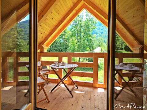 Lovely Place with Nice Balcony View and Sauna