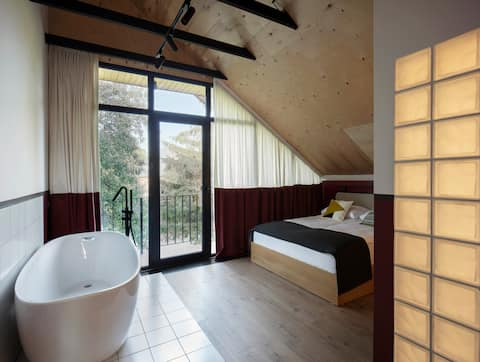 Major's House ◦ Double Room with Hot Tub