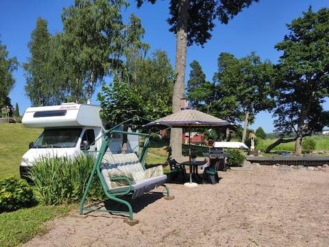 Private beach campervan experience