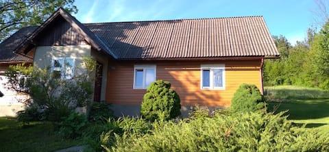 Siedliska Domek w malowniczej okolicy
