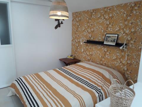 Appartement 2 pers. avec jardin coeur de Sarzeau