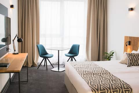 Newly opened hotel for contemporary travellers.