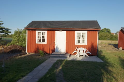 Small single detached cottage no. 3 in Rinkaby 21sqm